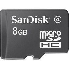 Micro-SD 8GB SPEICHERKARTE HANDY SPEICHER SDHC MIT SD-CARD ADAPTER NEU