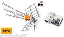 KIT ANTENNA DIGITALE TERRESTRE DAT HD BOSSTECH MIX VHF/UHF TELEVES + PICOKOM