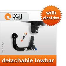 Detachable towbar (vertical) Volkswagen Bora saloon 98/05 + 7-pin electric kit