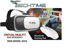 VR BOX 2.0 Occhiali Realtà Virtuale 3D Virtual Reality+Gamepad bluetooth NUOVO