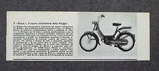 AE71 - Clipping-Ritaglio - 1973 - CICLOMOTORE BRAVO , PIAGGIO , BREVE SCHEDA