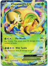 Pokemon Chesnaught EX XY18 Holofoil Ultra Rare Promo Card (XY-18) + Hard Sleeve