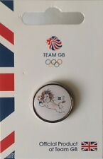 OFFICIAL TEAM GB RIO 2016 MASCOT HANDBALL PICTOGRAM PIN