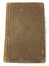 RARE 1846 Songs, Divine and Moral, by Isaac Watts (American Sunday-School Ed.)