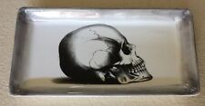Skull Serving Tray / Platter / Plate Ceramic Halloween
