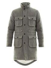 $3500 Black Fleece Brooks Brothers Men 100% Cashmere 100% Down Jacket Parka Coat