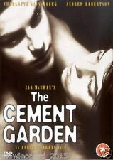 The Cement Garden DVD Charlotte Gainsbourg New and Sealed Original UK Release R2