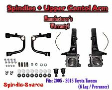 """2005 - 2015 Toyota Tacoma Prerunner 4"""" inch Lift Spindles + UPPER CONTROL ARMS"""