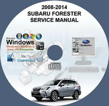 Subaru Forester 2008-2012  2014 Service Repair Manual on CD