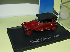 RENAULT TYPE NN 1927 Bordeaux UNIVERSAL HOBBIES