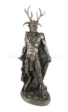 Celtic God Cernunnos Statue Sculpture Figure