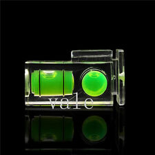 Double 2 Axis Bubble Spirit Level Flash Hot shoe cover cap for Canon Nikon DSLR