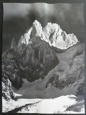 Photo Argentique Georges Tairraz Montagne Chamonix Vers 1950