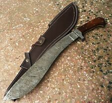 Custom handmade Knife king's Beautiful Damascus Machete Sword