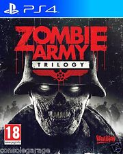 ZOMBIE ARMY TRILOGY PS4 PLAYSTATION 4 GAME USED IN SUPERB CONDITION