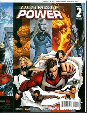 Ultimate Power 2  COVER PROOF Greg Land 2007 FF RARE Production Art MARVEL COMIC