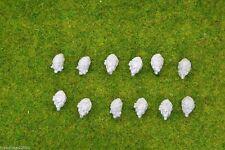Trent Miniatures separado jefes británico bearskins AWI Estilo Wargames edz # 07 28 Mm