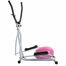 BRAND NEW! Sunny Health and Fitness Pink Magnetic Elliptical Trainer