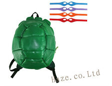 Teenage Mutant Ninja Turtles Shell Backpack & 4*Masks Kids Shoulders Bag New