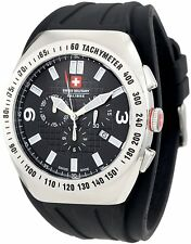 SWISS MILITARY CALIBRE CHRONOGRAPH MEN'S WATCH 06-4C2-04-007-R NEW MSRP $605
