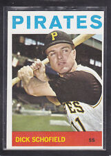 1964  DICK SCHOFIELD - Topps Baseball Card # 284 - Pittsburgh Pirates - Vintage
