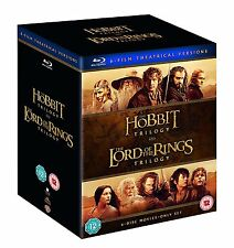 Middle Earth Collection Lord of the Rings Hobbit Trilogy (Blu-ray) PRE-ORDER!!