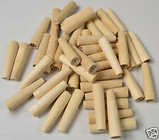 WOODEN HARD PEGS NON POROUS SPILES QTY 1,000. cask beer real ale brewing