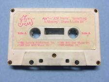 Jem and the Holograms Second Edition AJA Cassette Tape 1986 vintage Hasbro
