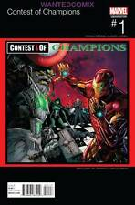 CONTEST OF CHAMPIONS #1 COWAN HIP HOP VARIANT COVER MARVEL COMIC BOOK