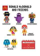 Malaysia Mcdonald Nanoblock Ronald & Friends with box 2016 FRYKIDS