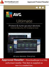 AVG Ultimate 2017 - 1 An/Illimités Dispositifs - AVG DISTRIBUTEUR