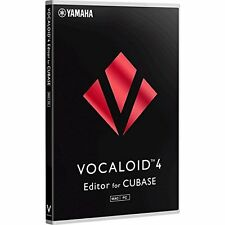 YAMAHA VOCALOID4 Editor for Cubase PC Software from Japan New