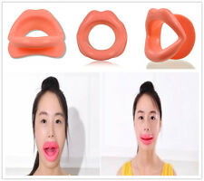 Functional Silicone Rubber Face Slimmer Exercise Mouth Piece Muscle Anti-Wrinkle
