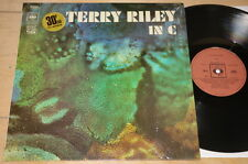 TERRY RILEY ~ IN C ~ RARE CBS FRENCH JAZZ LP 1971