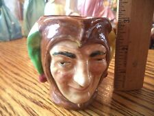 "VINTAGE ROYAL DOULTON CHARACTER JUG JESTER D5526 SMALL 3"" 1936-1960 A Mark"