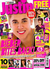 We Love Pop  Special Magazine, Justin Bieber GIANT POSTERS  NEW