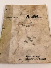 1965 Cummins Diesels H and NH series Operation and Maintenance Manual 983620