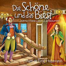 Hörbuch CD Die Schöne Und Das Biest gelesen von Matthias Ernst Holzmann