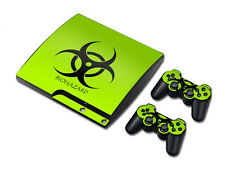Ps3 PlayStation 3 slim skin Design foils pegatinas película protectora set-Biohazard