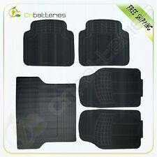 Fast Same Day Shipping USA 5 PC for Dodge Front/Rear Rubber Floor Mats