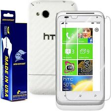 ArmorSuit MilitaryShield HTC Radar 4G Screen Protector + White Carbon Fiber Skin