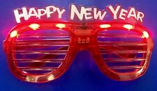 Light Up Happy New Years Eve Glasses Holiday