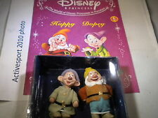 Deagostini Disney Princess-Edición 48-Happy & Dopey en caja y revista
