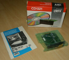 ~ CD1321 Scart Video Modul Commodore CDTV Amiga CD-1000 ~ OVP/BOXED ~ NEU/UNUSED