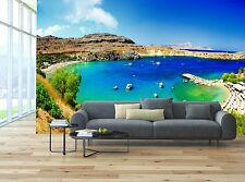 Rhodes island, Greece 3D Wallpaper Mural Wall Paper Background Furniture