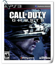 PS3 CALL OF DUTY GHOSTS SONY PLAYSTATION Activision Shooting Games