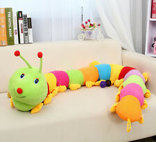 Giant creative long Colorful caterpillar plush soft toys  Millipedes gift 140cm