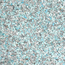 Crushed Natural Kingman Turquoise Material 3 Pounds for stone & wood inlay