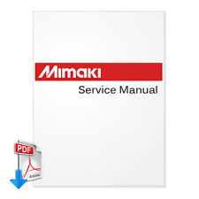 PDF File-MIMAKI JV2-130 JV2-90 English Service Manu + Spare Parts Manual