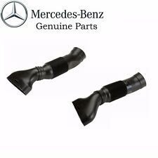 Mercedes W203 Set of Left and Right Engine Air Intake Hose Genuine